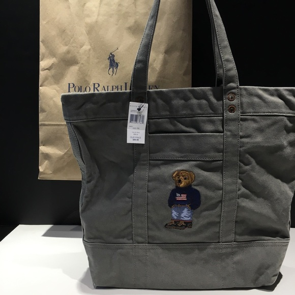 Polo by Ralph Lauren Bags   Ralph Lauren Polo Bear Limited Edition ... 2405de53a0